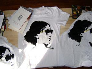 """West Coast band Princeton's Virginia Woolf t-shirt produced in conjunction with their 2008 debut album """"Bloomsbury"""""""