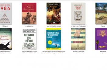 librat me te shitur te qershorit
